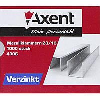 Скобы для степлера №23/13 Axent 4306 1000 шт.