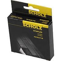 Скобы для степлера Scholz №23/15 1000 шт. 4763/04030080