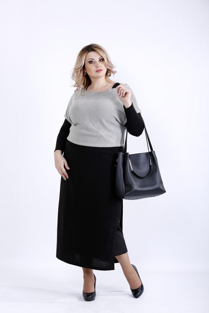 Платье серого цвета | 0886-2