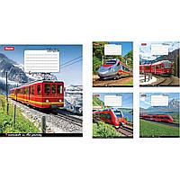 Тетрадь 1 Вересня 60 листов линия Trains & amp; Nature-17 (10) (160) №760186