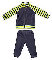 Комплект домашней одежды для мальчика, Danaya, серый в полоску (86 р.)