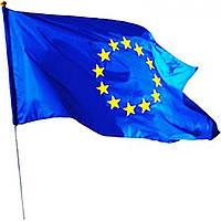 Флаг Евросоюза с древком 60х90см