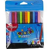 "Фломастеры ""Maped"" Color Peps Ocean 12 цветов №845720"