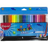 "Фломастеры ""Maped"" Color Peps Ocean 24 цвета №845722"