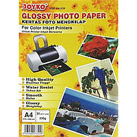Фотобумага глянцевая Joyko А4 230г/м2 210х298мм GSP-A4-10 20 листов/упаковка