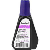 Штемпельная краска 7011 фиолетовая 28мл