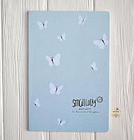 """Скетчбук """"Бабочки"""", 20.9*14.2 см, 36 листов"""