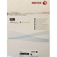 Этикетки самоклеящиеся Xerox 7455 А4 14 шт. на листе 105х42мм 100 листов/упаковка