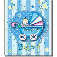 "Фотоальбом ""EVG"" 10 х15х200 Baby car blue №BKM46200 / 5883"