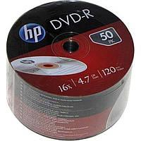 DVD-R 16х 4. 7Gb/120min HP bulk (50)