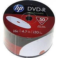 DVD-R 16х 4. 7Gb/120min HP bulk (50) printable