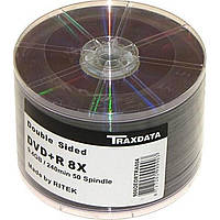 DVD+R 8х 9. 4Gb/120min Traxdata bulk (50) Double