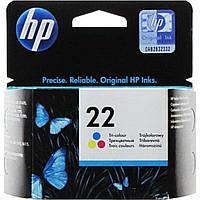 Картридж струйный HP DJ3920/PSC1410 C9352AE (22) (Col)