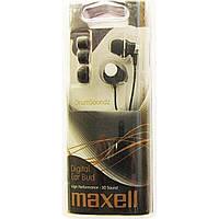Наушники вакуумные Maxell №303434 drumsoundz inner ear bud black