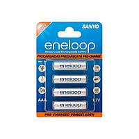 Аккумуляторы Sanyo Eneloop Ni-Mh (R-03,750 mAh) / блистер 4 шт (12)