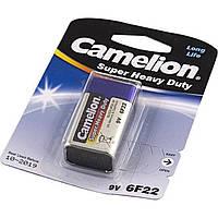 Батарейка Camelion 6F22/1bl крона blue