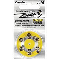 Батарейка Camelion Alkaline ZincAir A10/6bl