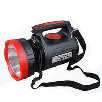 Мощный аккумуляторный светодиодный фонарь Yajia YJ-2890 20W радио, Power bank , фото 1