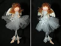 Елочное украшение Ангел 19см, 2 вида