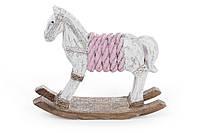 Декоративная статуэтка Лошадка-качалка 17.5см, набор 4 шт