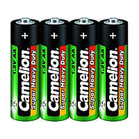 Батарейки Camelion green R-03 / пленка 4 шт (15) (300)
