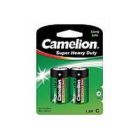 Батарейки Camelion green R-14 / блистер 2 шт (6) (144)