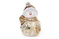 Декоративная статуэтка Снеговик, набор 8 шт