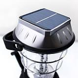 Динамо фонарь с солнечной батареей LaiTuo LT-768R - аккумуляторный кемпинговый фонарь, фото 3