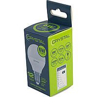 "Лампа ""Crystal"" LED G45-003 6 Вт PA 4 K E14 (100)"