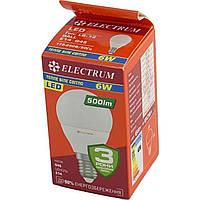 "Лампа ""Electrum"" D45 6 Вт. 3000 K PA LB-12 E14 (25) (50) №A-LB-1008"