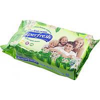 Салфетки влажные для всей семьи Super Fresh 60 шт.