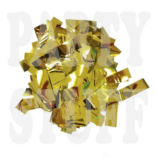 конфетти золото