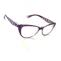 Очки с линзой из стекла