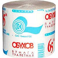 Туалетная бумага Обухов 1с картон