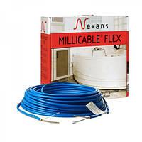 Двухжильный нагревательный кабель Nexans Millicable Flex 15 375 Вт.