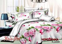 Евро макси набор постельного белья 200*220 из Ранфорса №18568 KRISPOL™