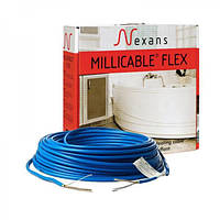 Двухжильный нагревательный кабель Nexans Millicable Flex 15 1050 Вт.