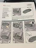 Сумка підлокітник Audi 000061100H, стильний органайзер салону, фото 3