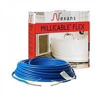 Двухжильный нагревательный кабель Nexans Millicable Flex 15 1200 Вт.