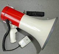 Мегафон рупор громкоговоритель переносной SD-10SH-B 25 Вт со съемным микрофоном купить в Украине