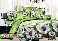 Полуторный набор постельного белья 150*220 из Ранфорса №18768 KRISPOL™