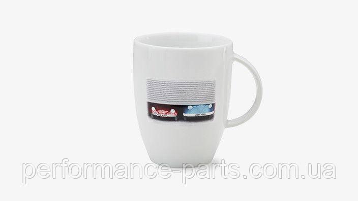 Фарфоровий кухоль Volkswagen Classic Mug Beetle and T1 Bulli, артикул 000069601AN