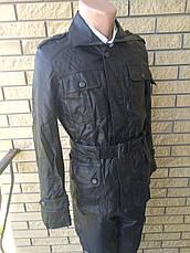 Куртка мужская из экокожи удлиненная JINMAN, фото 2
