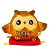 Золотая сова «Мудрость и богатство»