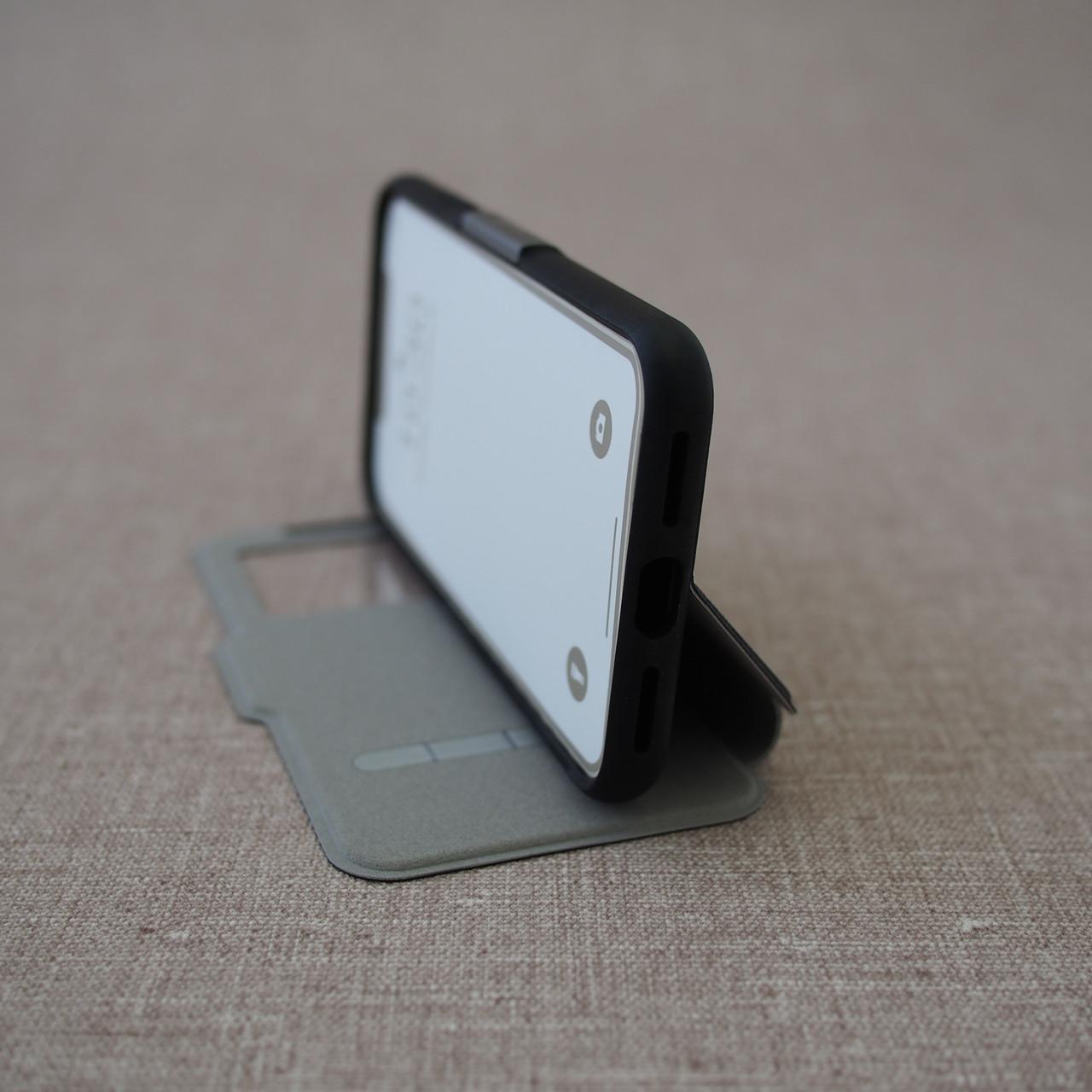 """Чехол Moshi SenseCover Slim Folio iPhone Xs/X {5.8""""} metro black (99MO072010) EAN/UPC: 4713057252471"""