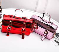 574943ce19e9 Голографическая сумка сундук на цепочке Стильная необычная сумка Высокое  качество Доступная цена Код: КДН3548