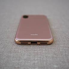 Чехол Moshi iGlaze Slim iPhone X taupe pink (99MO0101301) EAN/UPC: 4713057252549, фото 2