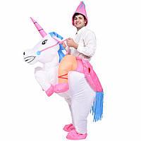 Надувной костюм Всадник на Единороге