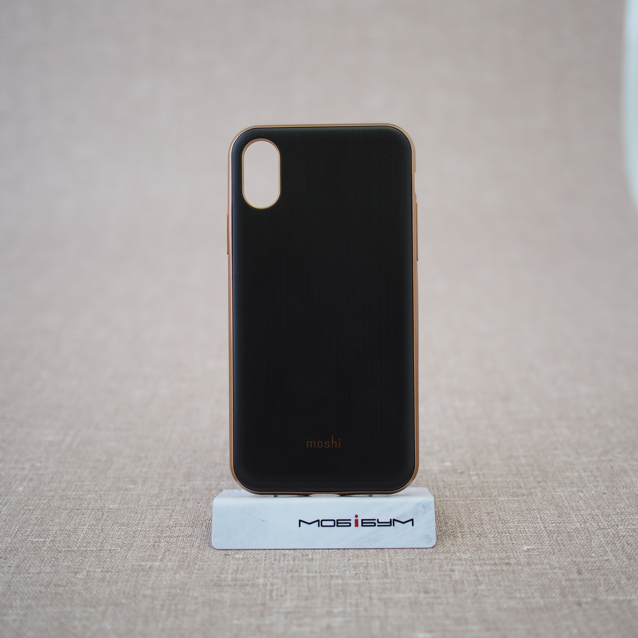 Чехол Moshi iGlaze Slim iPhone X armor black (99MO0101001) EAN/UPC: 4713057252532