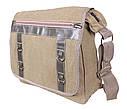 Мужская текстильная сумка 303227 бежевая, фото 2